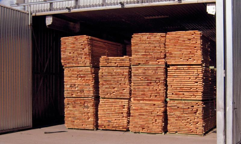 40 000 m3/an de bois séchés