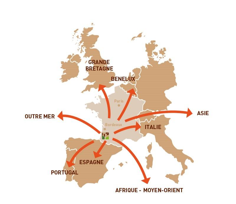 LESBATS, une entreprise européenne ouverte sur le monde