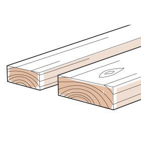 Lamelles pour bois collés