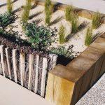 Bordures en pin «classe 4» pour agencer l'espace public